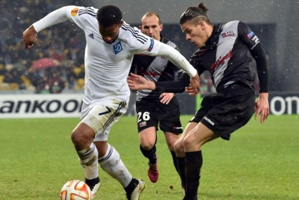 Europa League: Ένταση και διακοπή στο Κίεβο