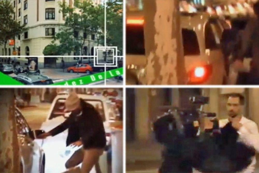 Δεν απέφυγαν το μαρκάρισμα των … παπαράτσι οι ξενύχτηδες Σέρχιο Ράμος και Χεσέ (video)
