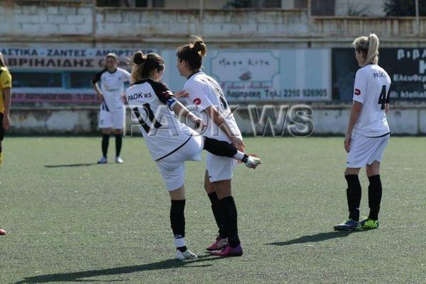 Α' Ποδοσφαίρου Γυναικών: Δεύτερη σερί ισοπαλία για ΠΑΟΚ