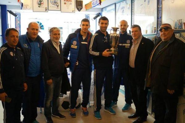 ΑΕΛ Καλλονής: Επίσκεψη στον «Γαλανόλευκο Φάρο» (photos)