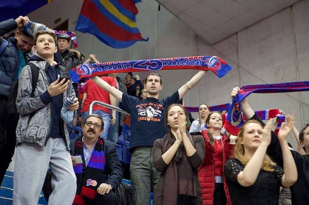 ΤΣΣΚΑ Μόσχας: Έκπτωση σε ευπαθείς ομάδες με Ολυμπιακό