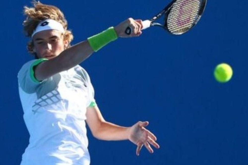 Τένις: Πέρασε ο Στέφανος, εκτός η Δέσποινα