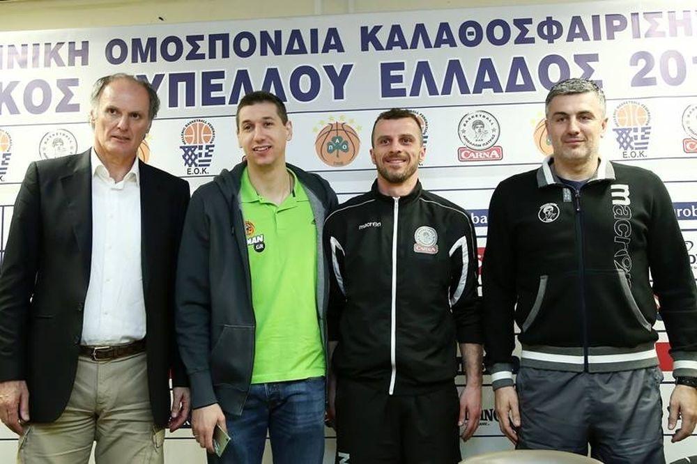 Κύπελλο Ελλάδας: «Ας κερδίσει ο καλύτερος» (photos+videos)