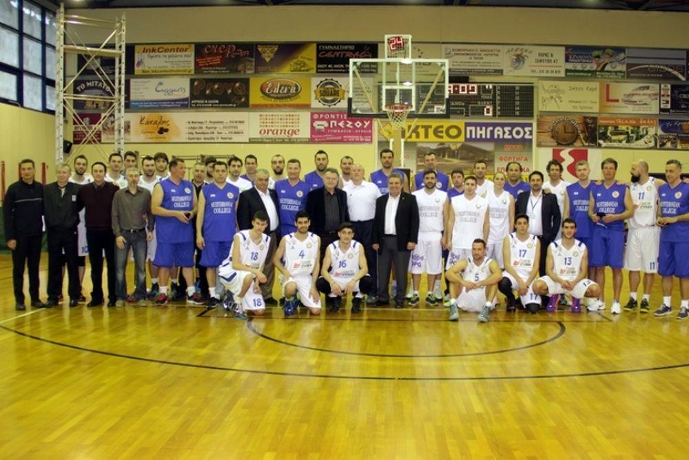 Mediterranean College:Φιλανθρωπικός αγώνας μπάσκετ για τη ΦΛΟΓΑ