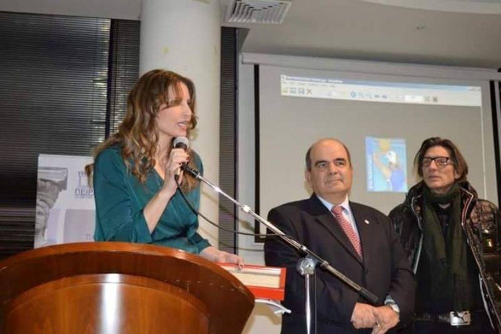 Διάκριση από την Unesco για την αντιπρόεδρο του Συλλόγου Ελλήνων Ολυμπιονικών
