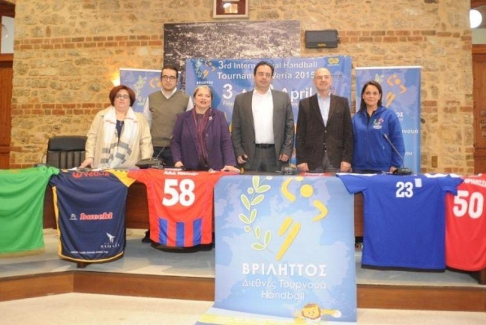 Χάντμπολ: «Πρεσβευτής στο εξωτερικό ο Βριληττός 2015»