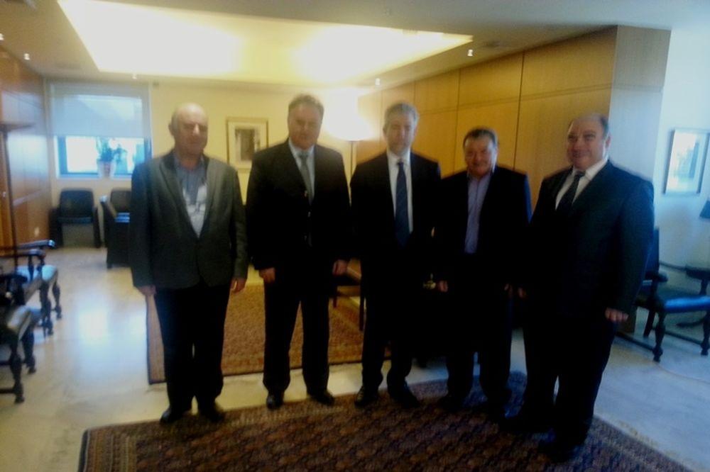 Κρίκετ: Συνάντηση με τον Υφυπουργό Αθλητισμού