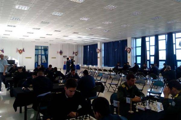 Σκάκι: Οι κορυφαίοι των Ενόπλων Δυνάμεων