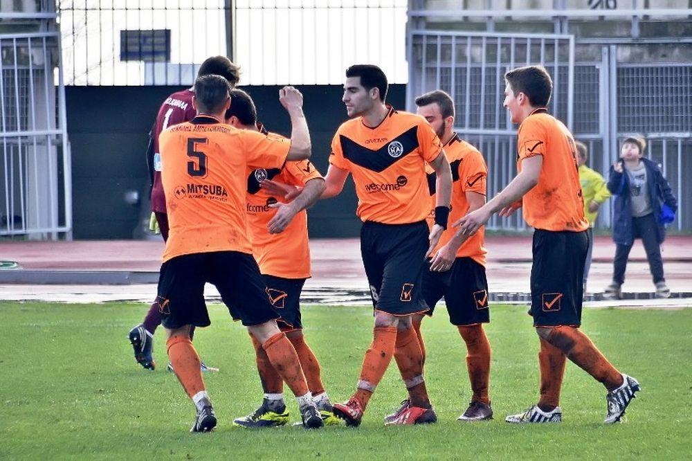 Καστοριά-Ηρακλής Αμπελοκήπων 0-3