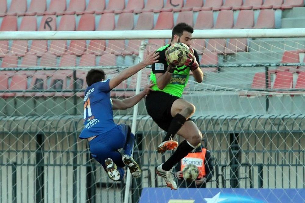 Ηρακλής-Λάρισα 0-1