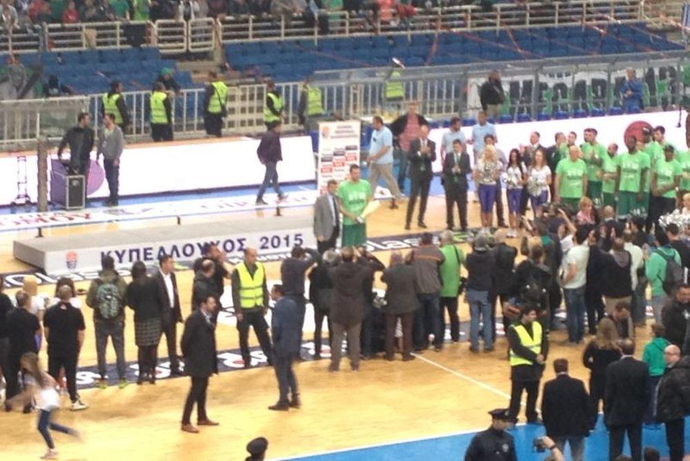 Τελικός Κυπέλλου Μπάσκετ: MVP ο Μαυροκεφαλίδης