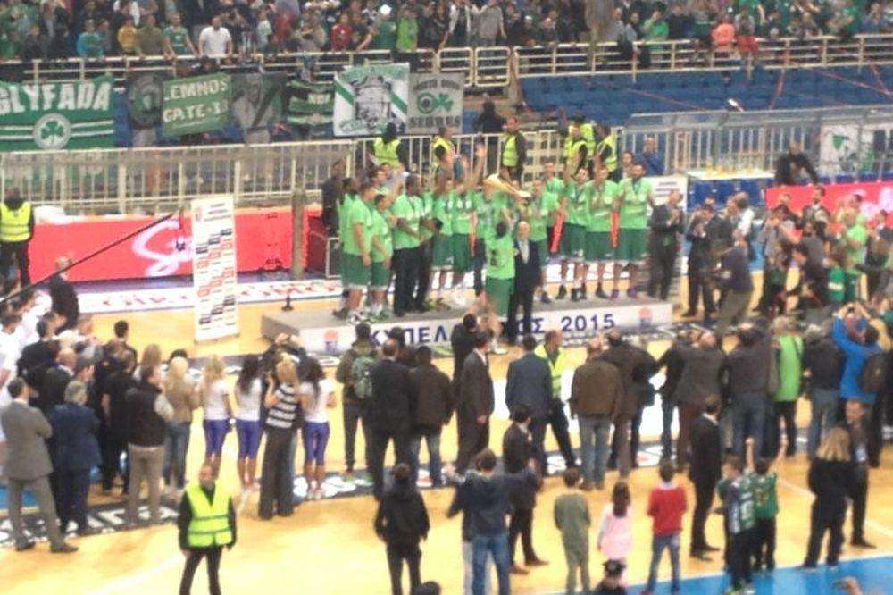 Τελικός Κυπέλλου Μπάσκετ: Το σήκωσε ο Διαμαντίδης (photos)