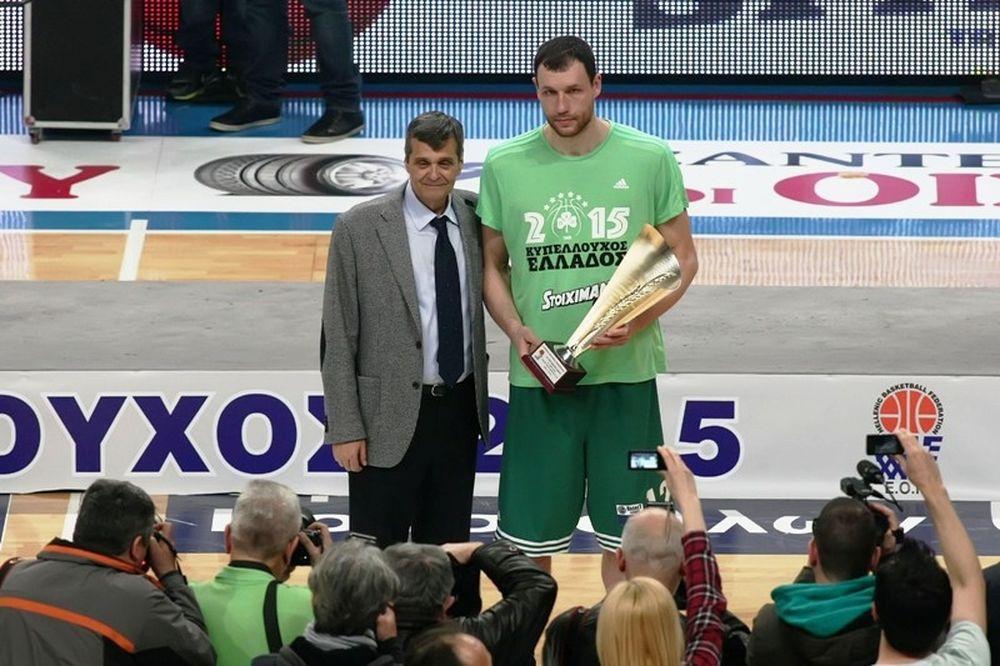 Μαυροκεφαλίδης: «MVP Παππάς και Γιάνκοβιτς»