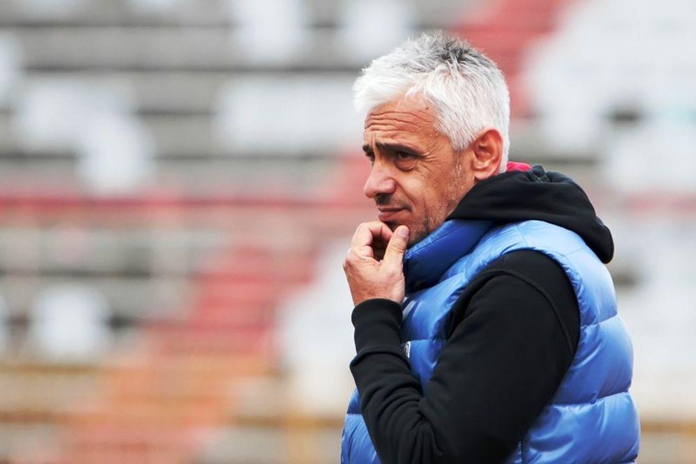 Χαραλαμπίδης: «Συγχαρητήρια στους ποδοσφαιριστές μου»