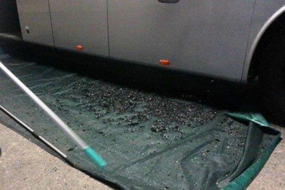 Παρί Σεν Ζερμέν: Έσπασαν το πούλμαν της! (photos)