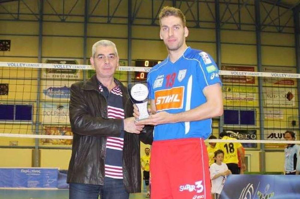 Volleyleague: MVP ο Ντόκιτς