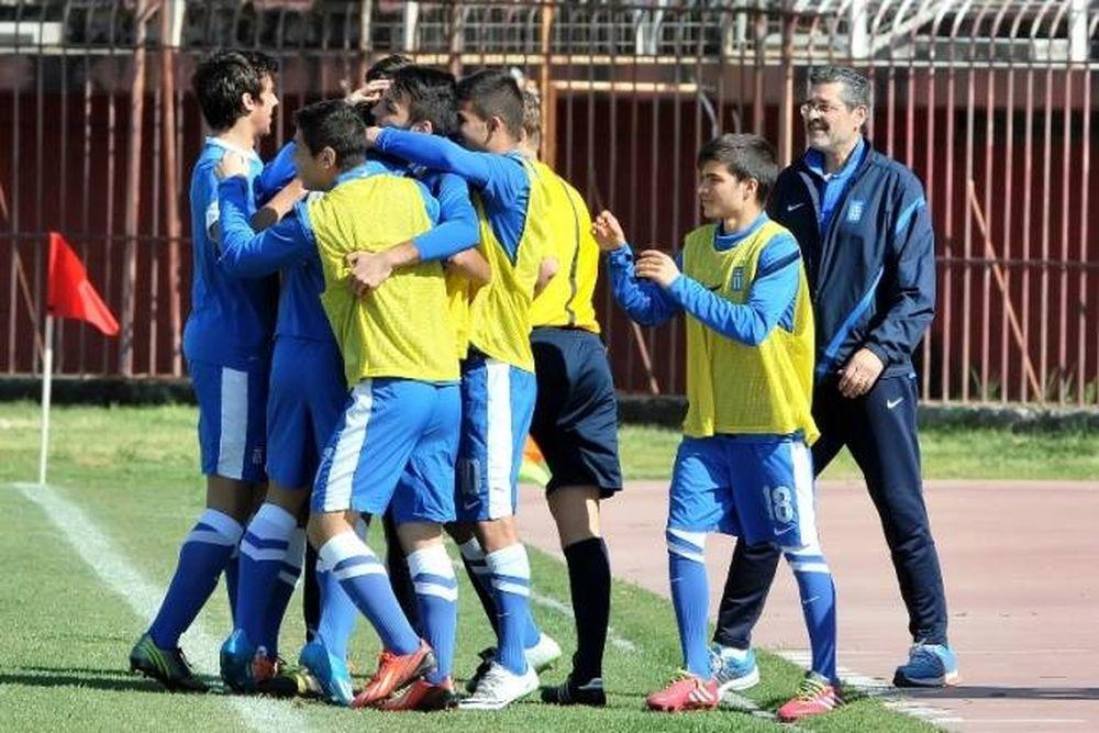 Εθνική Κ16: Οι «εκλεκτοί» για Αζερμπαϊτζάν