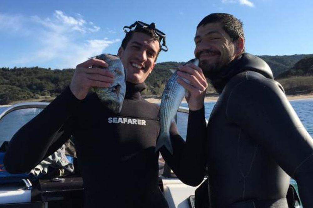 ΠΑΟΚ: Δείτε τι ψάρια πιάνουν Παπαδόπουλος και Κέσελ (photos)