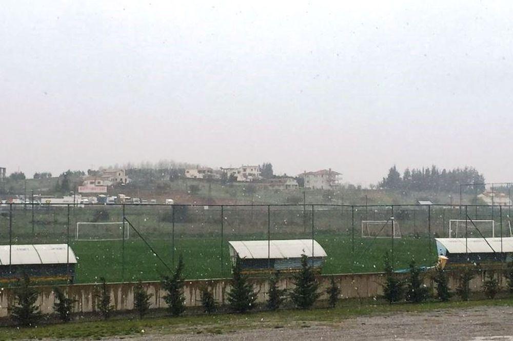 Αστέρας Τρίπολης: Χιονισμένη πασχαλινή προετοιμασία...