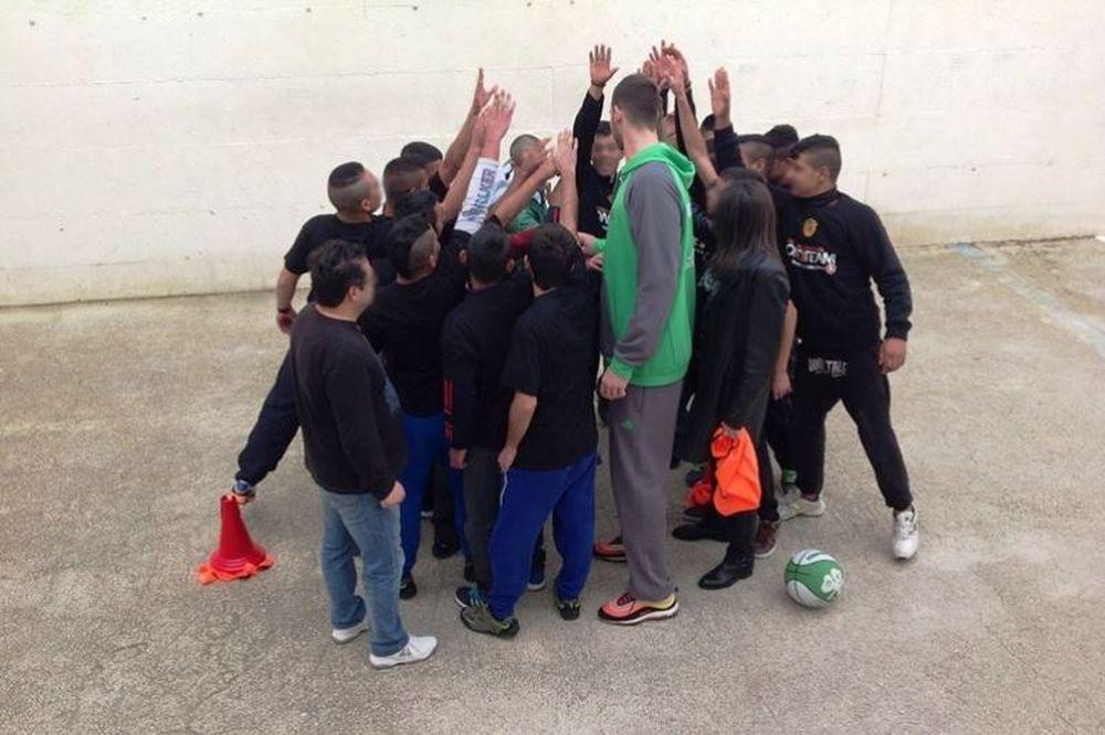 Παναθηναϊκός: Ο Παπαγιάννης στο One Team - Basketball is Everywhere