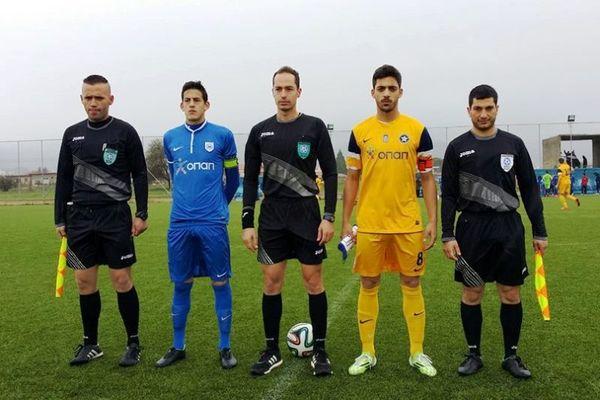 Αστέρας Τρίπολης-ΠΑΣ Γιάννινα 2-2 (Κ20)