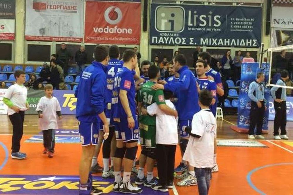 Εθνικός Αλεξανδρούπολης – Παμβοχαϊκός 3-0