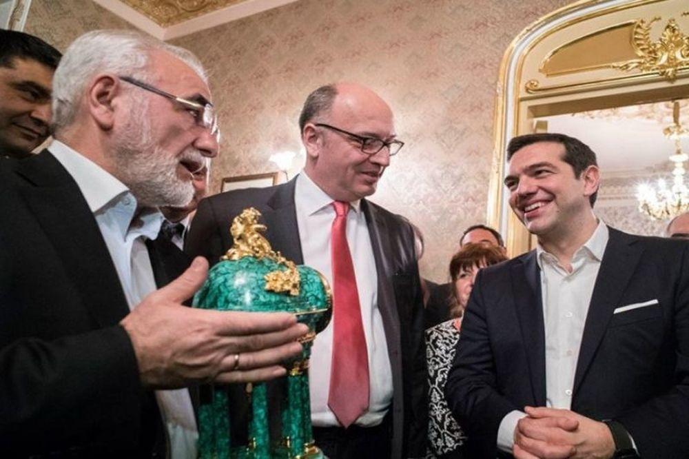 ΠΑΟΚ: Η συνάντηση Σαββίδη-Τσίπρα (photos)