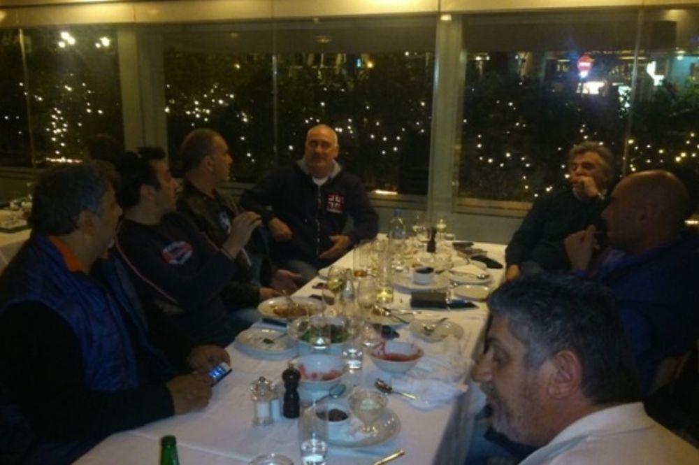 Πανιώνιος: Γεύμα και τα ευχαριστώ της διοίκησης (photos, videos)