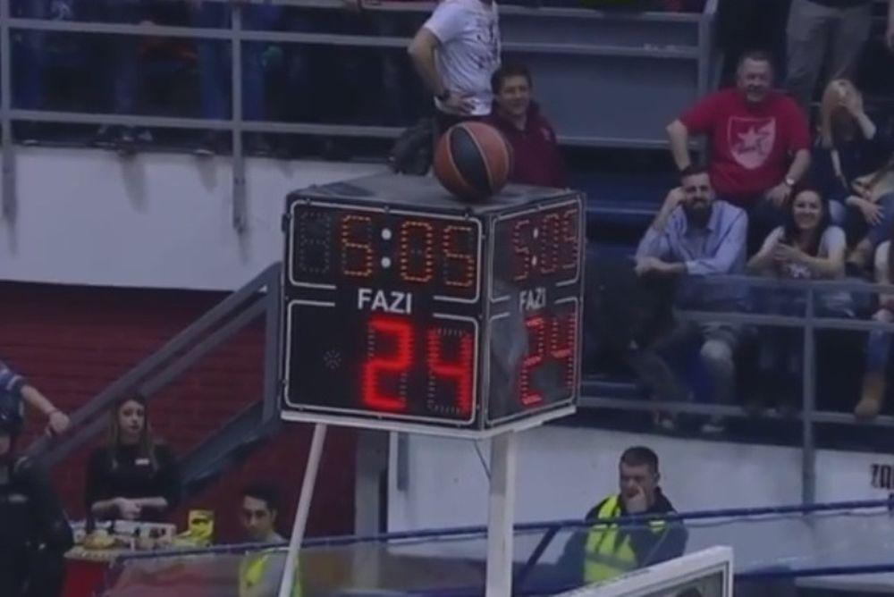 Παναθηναϊκός: Χάθηκε η... μπάλα στο Βελιγράδι (video)