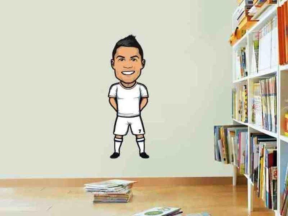 «Ζωγραφιά» η ζωή του Κριστιάνο Ρονάλντο (video)