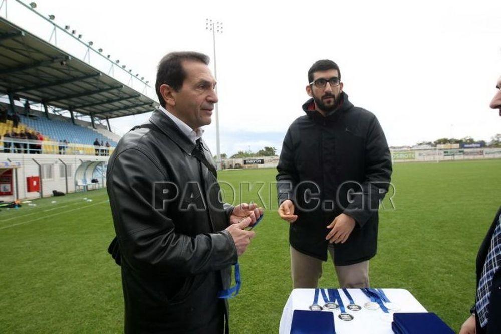 Καραβέλης: «Στόχος η δημιουργία ποιοτικών παικτών στον ΠΑΟΚ» (video)