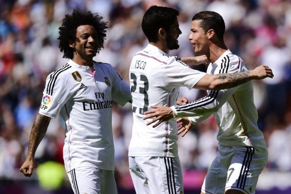Ρεάλ Μαδρίτης – Εϊμπάρ 3-0 (videos)