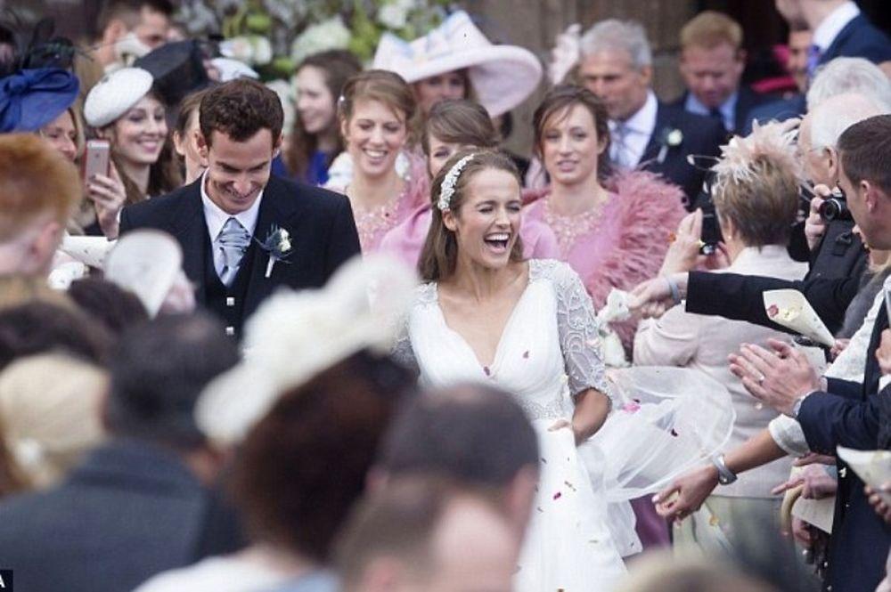 Σκωτσέζικος γάμος για Μάρεϊ (photos+video)