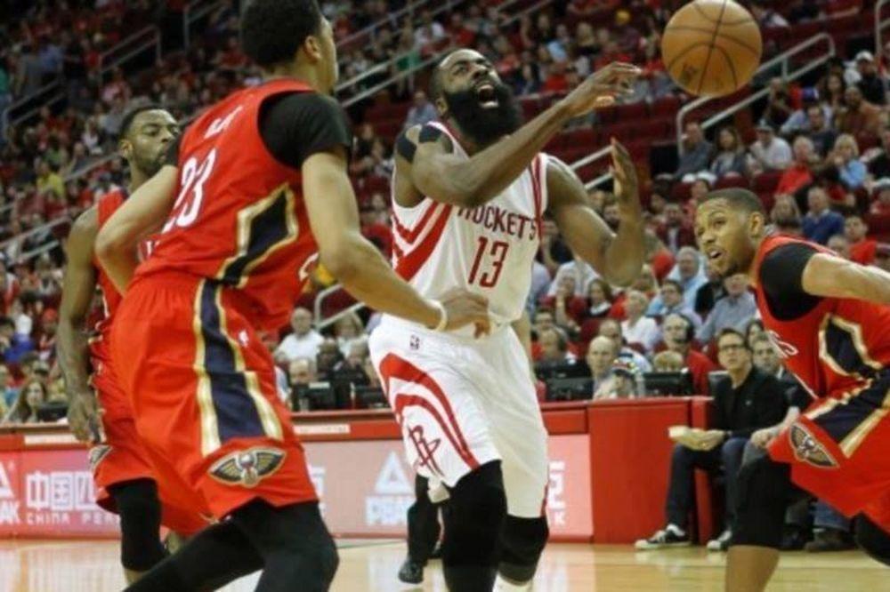 NBA: Πλήγωσε τους «πελεκάνους» ο Χάρντεν (video)