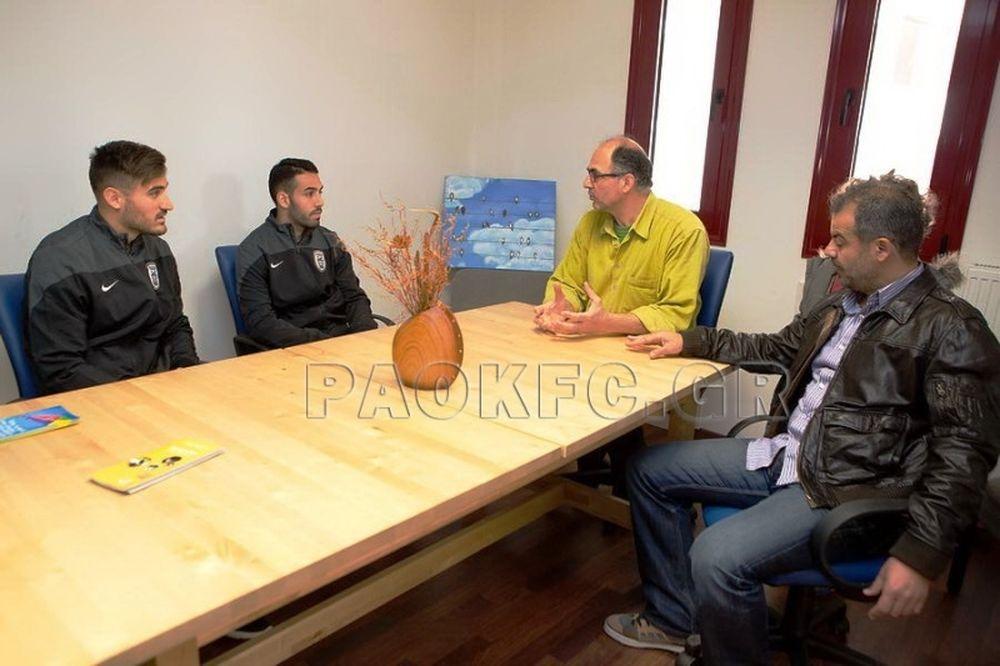 ΠΑΟΚ: Στην «Αμυμώνη» οι Γκολάσα, Παπαγιαννόπουλος (video)