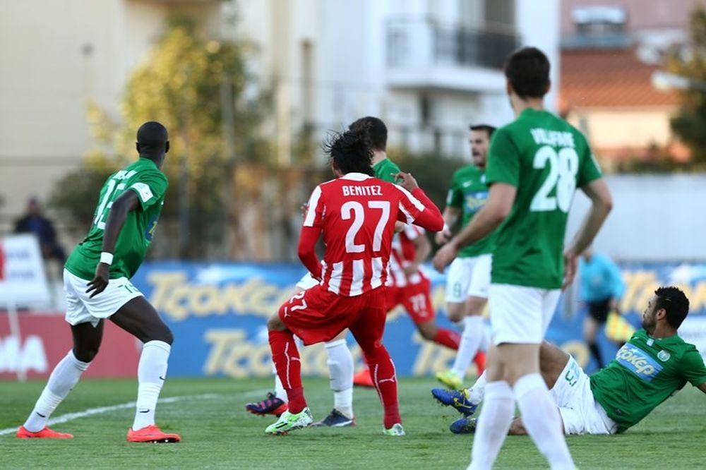 Πανθρακικός - Ολυμπιακός 1-3 (photos)