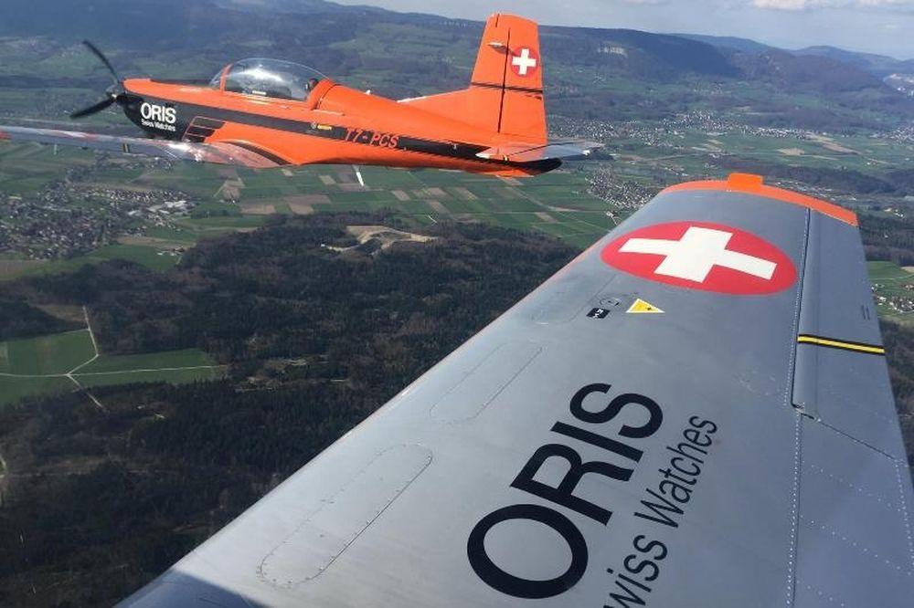 Η Oris Aviators' Team για πρώτη φορά στην Ελλάδα