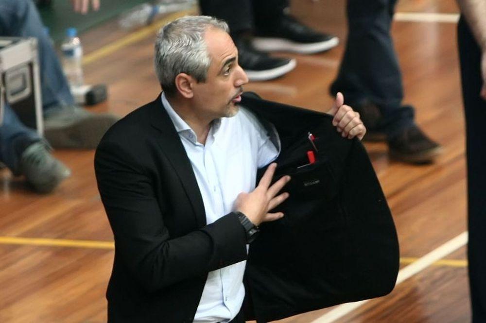 Καλμαζίδης: «Αν δεν παίξουμε δεν θα κερδίσουμε»