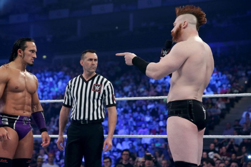SmackDown: Kiss Me Arse Match εκ Λονδίνου (photos+videos)