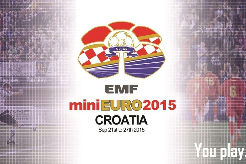 Το miniEURO 2015 στην Κροατία