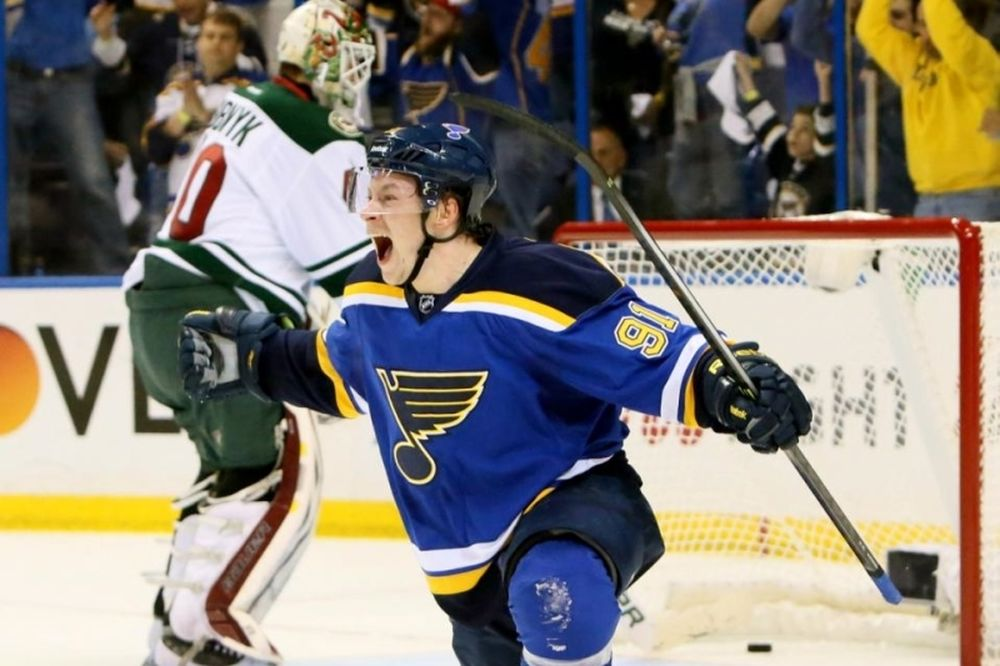 NHL: Χατ τρικ για Tarasenko (videos)