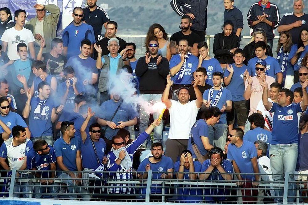 Blue Boys: Θρήνος για τον Πέτρο Καυκαλά
