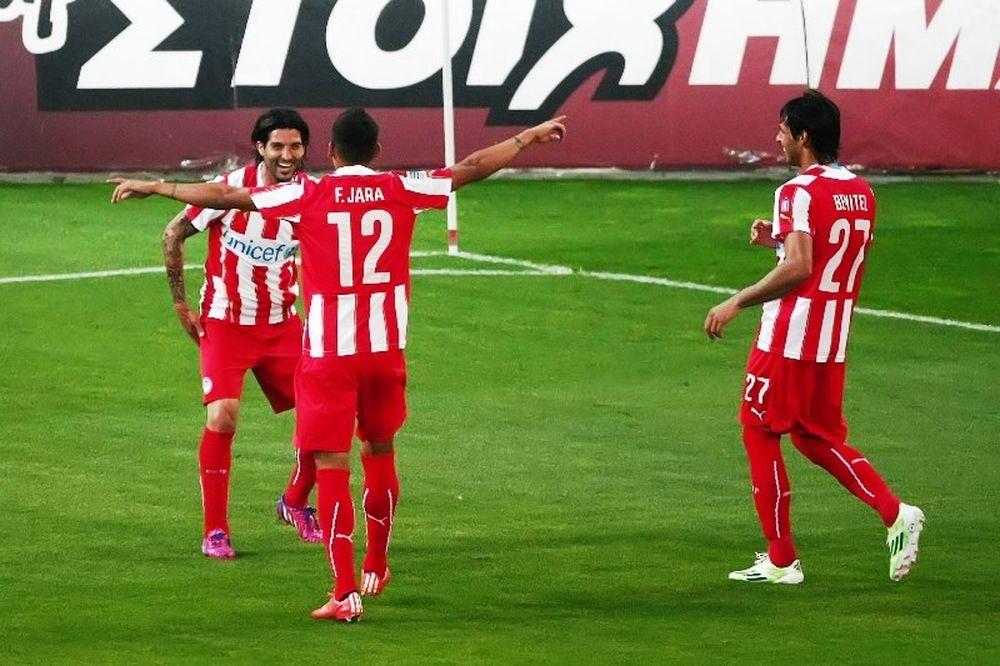 Ολυμπιακός - Λεβαδειακός 4-0: Τα γκολ του αγώνα (video)