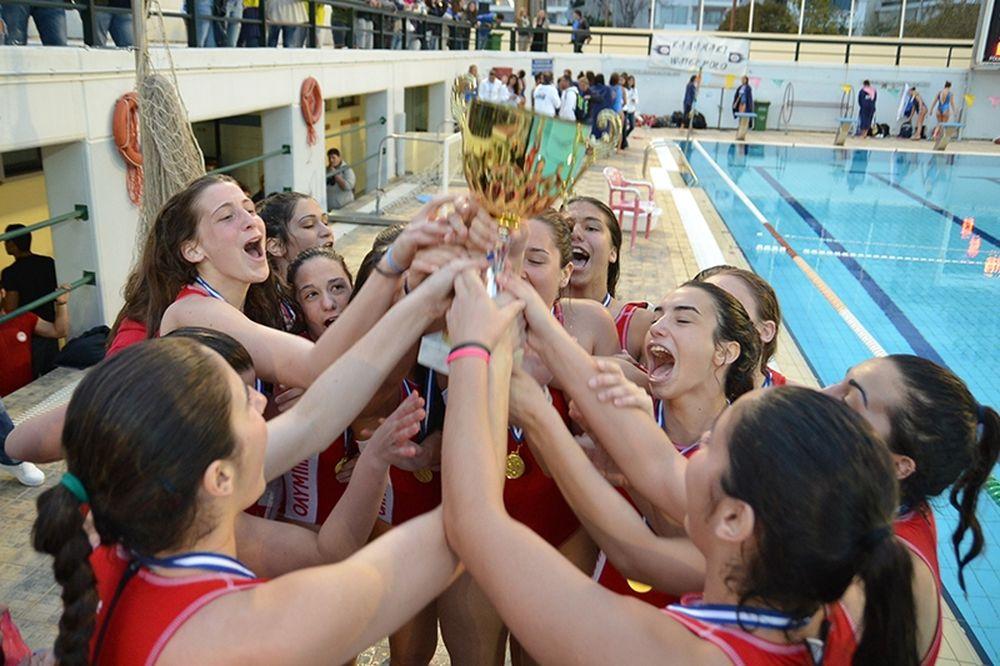 Ολυμπιακός: Με νταμπλ σκορ τον τίτλο οι Νέες Γυναίκες