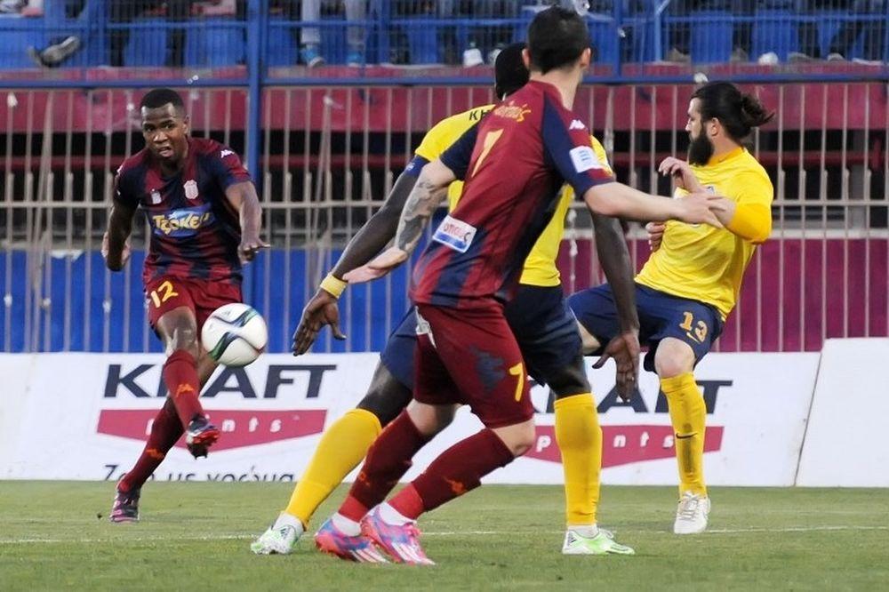 Βέροια - Αστέρας Τρίπολης 4-0: Τα γκολ και οι καλύτερες φάσεις (video)