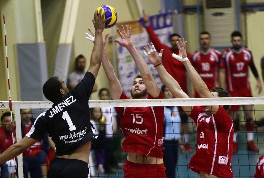 ΠΑΟΚ - Ολυμπιακός: Αλλαγή ώρας στον 1ο τελικό της Volleyleague