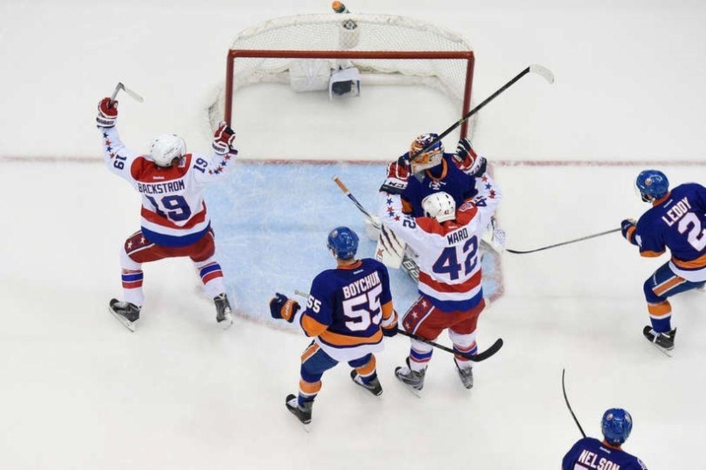NHL: «Χρυσός» Backstrom για Κάπιτολς (videos)