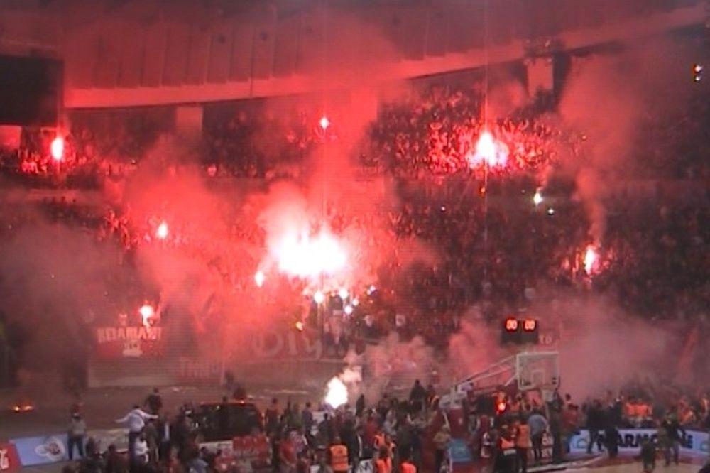 Onsports TV: Φωτιά στο ΣΕΦ! (video+photos)