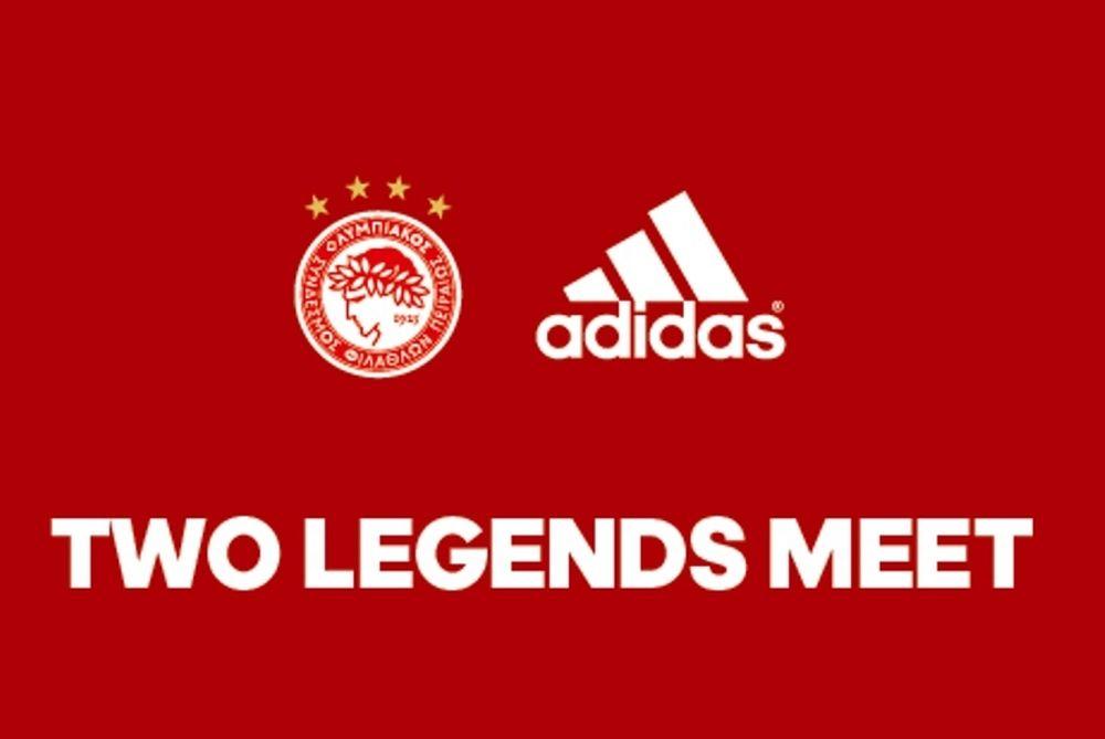 Ολυμπιακός: Ντύνεται πλέον στην adidas (video)
