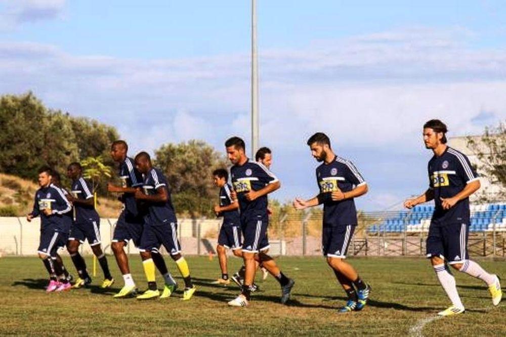 Καλλονή: Προπόνηση με 13 ποδοσφαιριστές